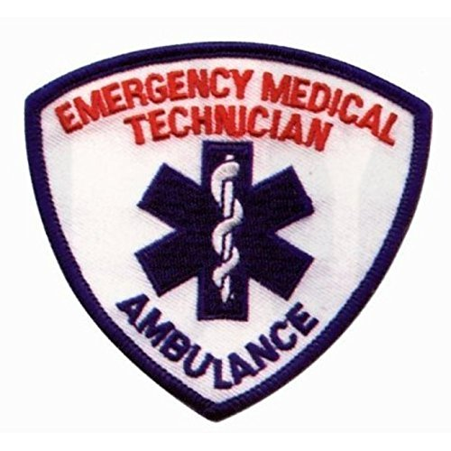 EMT EMS PARAMEDIC Uniform Patch 3-1/2
