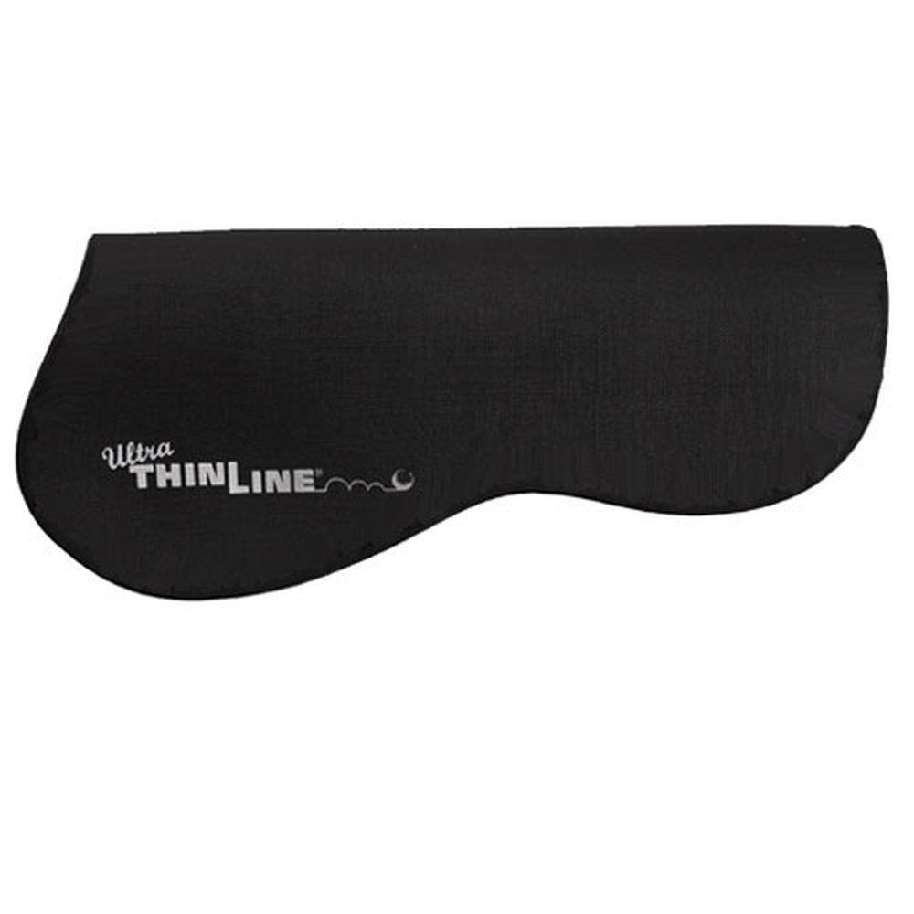 Horse Black ThinLine Untrimmed Half Pad