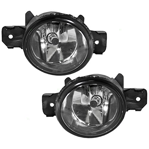Fog Lights Lamps Driver and Passenger Replacement for Infiniti Nissan SUV 261559B91C 261509B91C