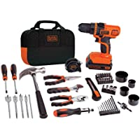 BLACK+DECKER LDX120PK Lithium Drill and Project Kit, 20-volt