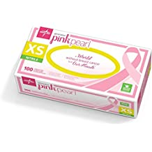 Medline Generation Pink Pearl Nitrile Exam Gloves, Pink