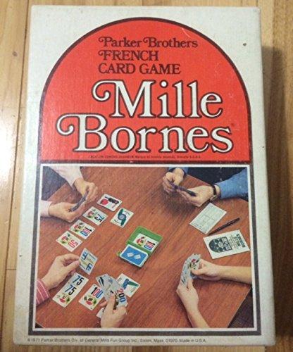 (Mille Bornes Vintage Card Game 1971)