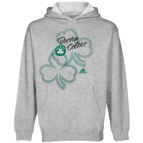 buy popular 36321 610ad adidas Boston Celtics NBA Girls Popover Hoodie, Hooded Sweatshirt, Gray
