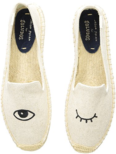Soludos Women's Wink Embroidered Smoking Slipper - Choose SZ color color color f4d377
