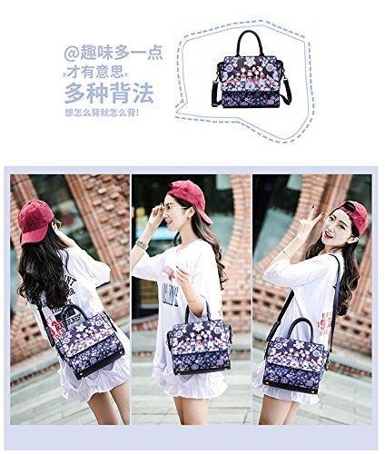 Sacchetti Versione Ctooo Piccoli Coreana Moderne Stampa Blu femminili Di zqwzpnaC