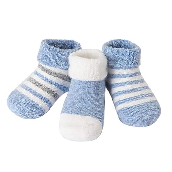 Famesale Calcetines Para Niños Calcetines Para Bebé De Invierno ...