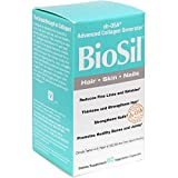 BioSil - Hair, Skin, Nails, Supports Keratin and Collagen Production, Natural Nourishment For Your Body's Beauty Proteins, 60 Capsules (FFP)