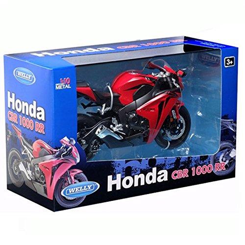 10/Escala Honda CBR 100/Diecast Modelo de la Motocicleta Welly Botas de 62804/W 1