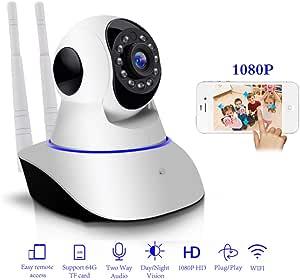 1080P IP Camera Wireless Home Security IP Camera Surveillance Camera WiFi Night Vision Baby Monitor CCTV Camera 1920 * 1080
