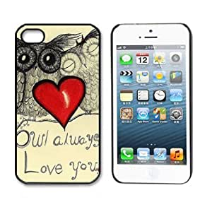 ABC 1pcs Newest Cute Hard For SamSung Galaxy S3 Phone Case Cover (Owl Always Love you)