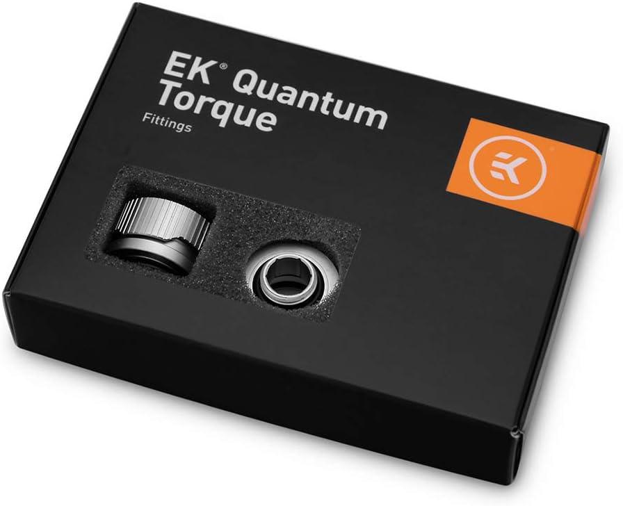 Ekwb Ek Quantum Torque 6 Pack Hdc 16 Satin Titanium Computer Zubehör