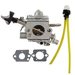 hilom con juntas línea de pera de combustible para carburador sustituye a Stihl BR500BR550BR600Zama c1q-s183mochila soplador