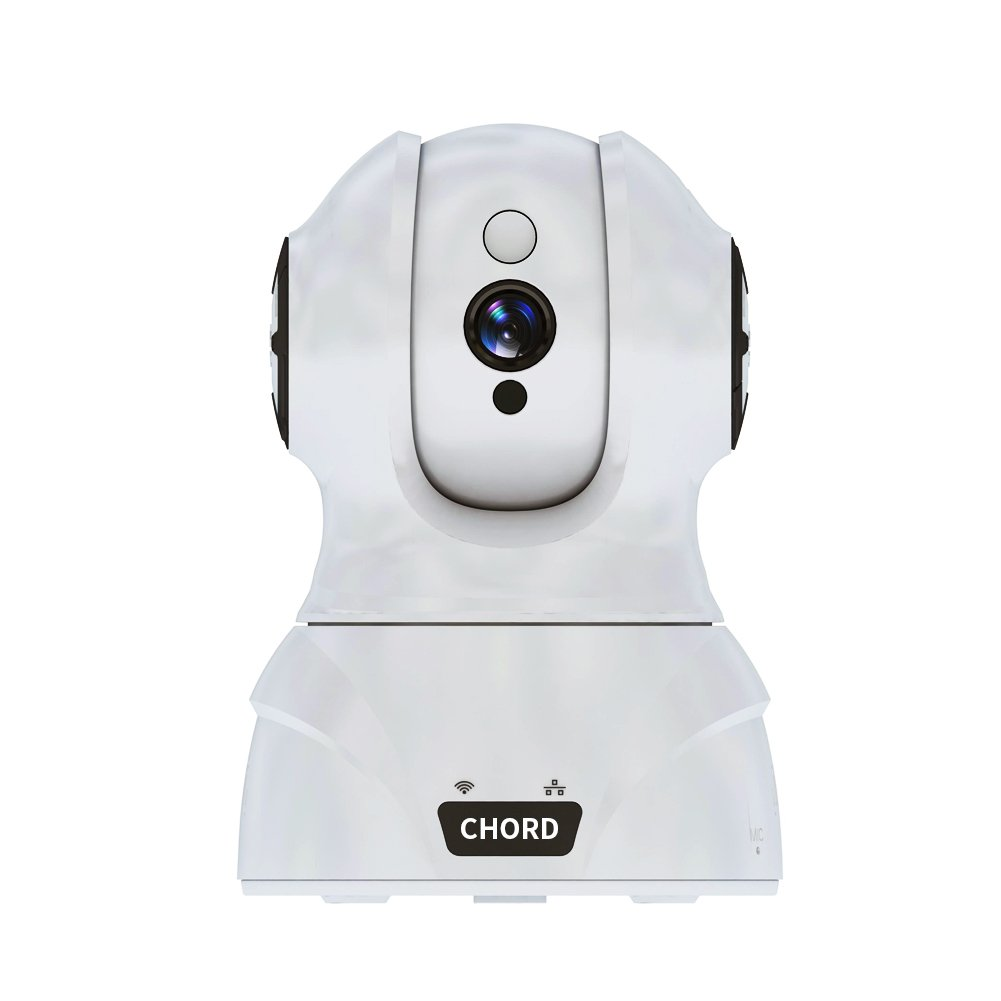HD IP Camera 1080P - Night Vision for Baby/Pet Monitor, Wireless IP Camera with Two-way Audio, Indoor Security System with Motion Detection with Micro SD Card Slot, Remote Control with iOS