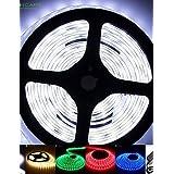 2M 50W 5630x120LEDS White/Blue/Red/Warm White/Yellow/Green/Cold White IP68 Flexible LED Light Strips 100-240V 12V 2A , yellow