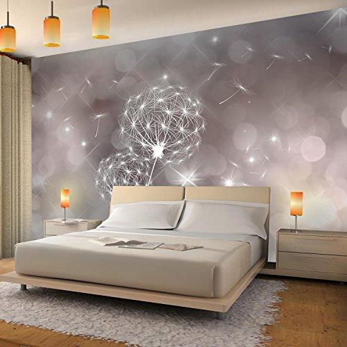 Fototapeten Pusteblumen 352 x 250 cm Vlies Wand Tapete Wohnzimmer  Schlafzimmer Büro Flur Dekoration Wandbilder XXL Moderne Wanddeko Flower  100% MADE ...