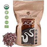 Raw Cacao Nibs Organic Unsweetened - Premium Peruvian Cacao nibs 1lb - From aromatic and Criollo Cocoa bean - USDA Certified Organic - Cacao nibs Vegan - Non GMO