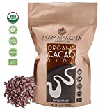 Raw Cacao Nibs Organic Unsweetened - Premium Peruvian Cacao nibs 1lb - From Aromatic and Criollo Cocoa Beans - USDA Certified Organic - Cacao nibs Vegan - Keto Snack -Non GMO
