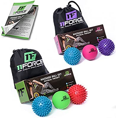 Amazon.com: Bolas de masaje de terapia superior por 11FORCE ...