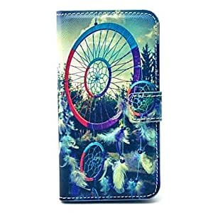 ZX Dream Catcher Pattern PU Leather Full Body Case with Card Slot for Samsung Galaxy S5 I9600