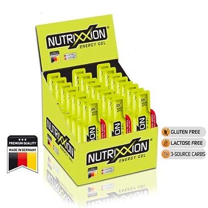 Nutrixxion GEL ENERGÍA con BCAA, Vitaminas y Minerales Set ...