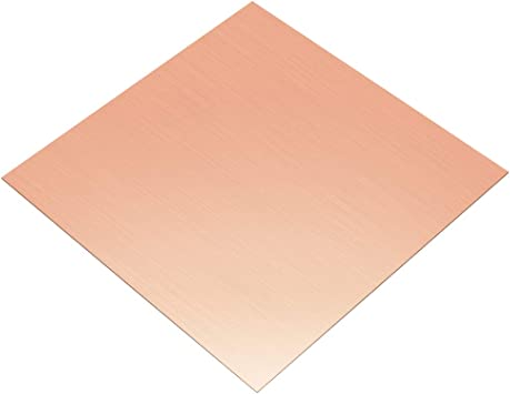 Copper sheet 2,5mm cu-dhp copper sheet plate kupfer copper-blech