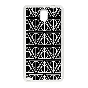 Simple black triangle pattern Cell Phone Case for Samsung Galaxy Note3