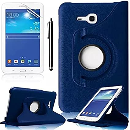 hot sale online 68e03 2a364 Samsung Tab 3 Lite 7 Cover,Samsung T111 7.0 Inch Cover,Stand Case for  Samsung Galaxy Tab 3 Lite 7.0 Inch T110 Tablet Protective Case with Screen  ...