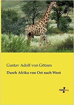 Book Durch Afrika von Ost nach West