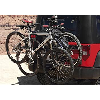 Jeep Wrangler Bike Rack >> Mopar Tspro963 Jeep Wrangler Liberty Spare Tire Bicycle Carrier