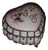 I Love You Heart Shaped Musical Jewelry Box playing Endless Love