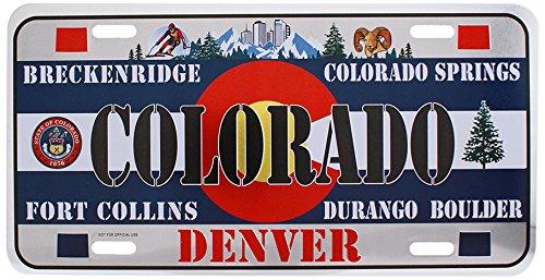 (Dimension 9 Home Decorative Plate, Colorado)
