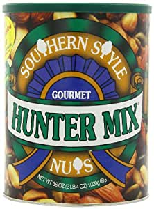 Squirrel Brand Southern Style Nuts-Gourmet Hunter Mix, 36-Ounce