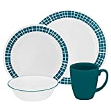 Corelle Livingware Aqua Tiles 16-pc Dinnerware Set Review