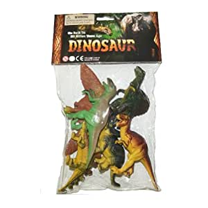 Kandytoys 6 Assorted Dinosaurs In Pvc