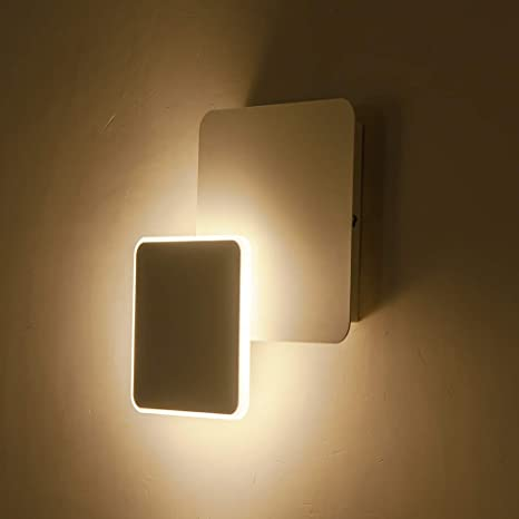 Houdes Modern Led Wall Sconce Lighting Fixture Decorate Wall Light For Living Room Hallway Bedroom Warm White 3000k