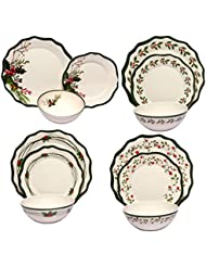 Amazon.com: Melamine - Dinnerware Sets / Dinnerware: Home & Kitchen
