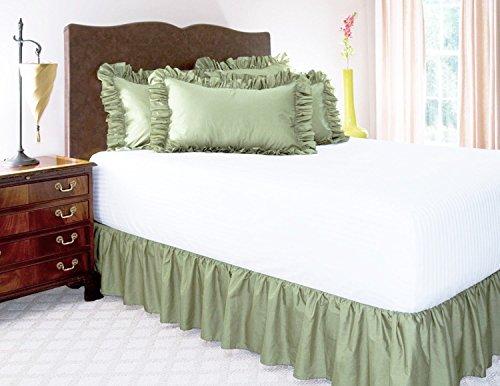 1-piece-bed-ruffle-skirt-14-inch-twin-sage-green