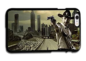 Wishing Tomhousomick Custom Design The Walking Dead Case for iPhone 6 Plus 5.5 inch Phone Case Cover #68