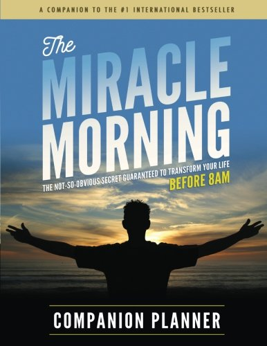 The Miracle Morning Companion Planner cover