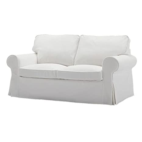 Amazon.com: IKEA EKTORP Loveseat Cover, Blanco Blekinge ...