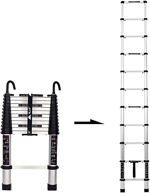 Escaleras Telescópicas Multifunción Plegable de aluminio ...