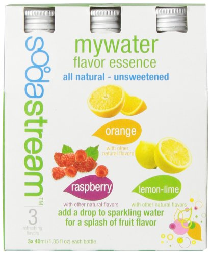 Sodastream Mywater Variety  40Ml  3 Pack