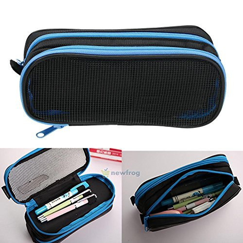 Stationery Canvas Pen Pencil Case Cosmetic Bag Travel Makeup Bag School Storage - Macys Spectrum