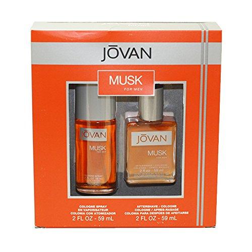 Coty Jovan Musk 2 Piece Gift Set for Men