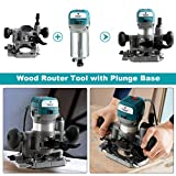 Goplus Wood Router Tool Combo Kit, 1.25HP Compact