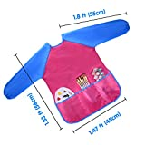 KUUQA Waterproof Art Smock, Kids Art Aprons