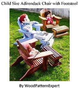 Amazon Com Build Your Own Child Size Adirondack Chair