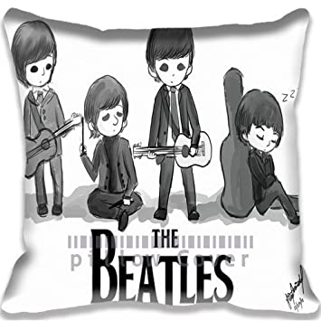 Amazon.com: Cartoon The Beatles Throw Pillow Case Fairy Tale ...