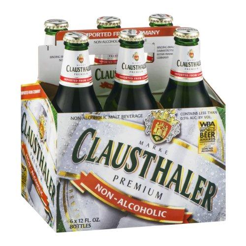 Clausthaler Non-Alcoholic Malt Beverage, 12 Oz (Pack of 6 Bottles)