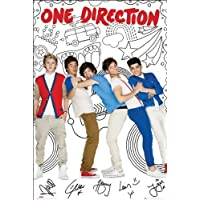 Poster One Direction Comic